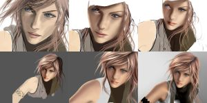 Lightning Painting Phases by Aameeyur