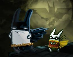 Bunman and Rabbin by Jutchy