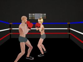 Intergender Boxing 03 by andypedro