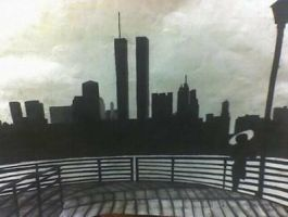 Twin towers by coale0906