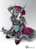 Sylvanas Windrunner by RancidAlice