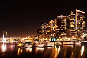 Docklands Marina HDR by daniellepowell82