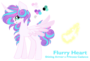 NG Flurry Heart - Reference Sheet by Cheschire-Kaat