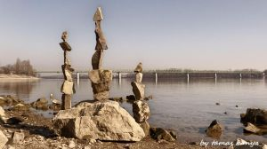 Stone balance art in Hungary by tamas kanya by tom-tom1969