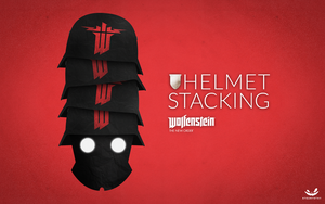 Helmet Stacking     Wolfenstein: The New Order by SteamTothy