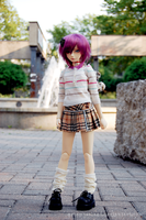 Short Skirts and Slouchy Socks by artemiselani