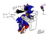 Metal Sonic's son 8 by Jolleboi