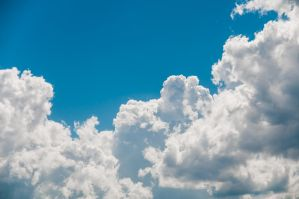 Puffy Clouds 2 by Sabiand
