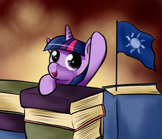 Filly Twilight 30 Min Art Challenge by SouthParkTaoist