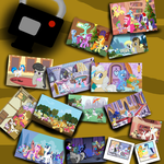 Holidays in Equestria  (another canon collab). by djjafeth