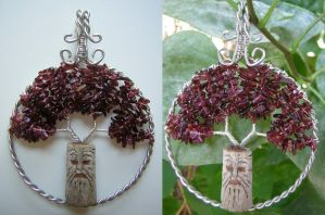 The Weirwood Tree *SOLD* by RachaelsWireGarden