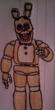 Spring-Bonnie (Fredbear's Family Diner) by FreddleFrooby