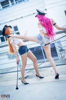 Cosplay Poison Roxy Final Fight Otaku No Baire by vichun