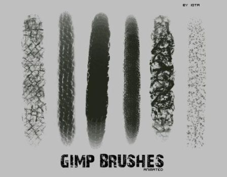 Gimp animated brush pack 1 by griffeur