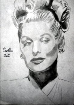 Lucille ball by marilyn1986
