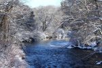 Charles River in Millis Ma, looking down river by natureguy