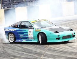 Stamford Tires Thailand Dr.Slide Nissan 200SX by sudro