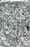 Sea of Faces by FrenchHumorist