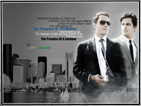 White Collar - Peter and Neal - Promise by DoctorShamrock