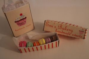 Miniature Macarons by EmisBakery