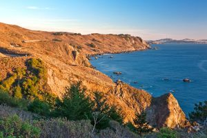 Golden Hour Coast - Point Reyes by somadjinn