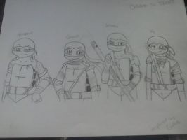 Children of TMNT by GingaLover123