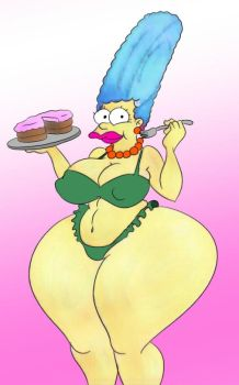 THICC Marge by folgore2010
