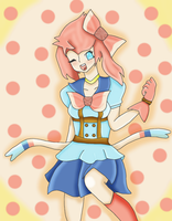 Sylveon / Ninfia Gijinka by smoochum302
