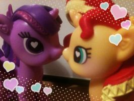 Little plastic kisses by ponydreamdiary