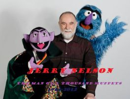 My Jerry Nelson Picture Tribute (1934-2012) by bigpurplemuppet99
