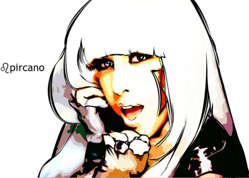 Lady GaGa The Fame by pircano