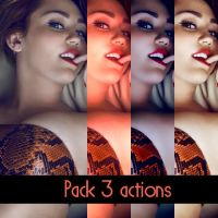 Pack 3 Actions by SilvisJ