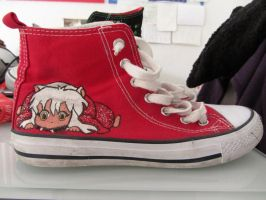 Inu yasha Chucks by Eloylie