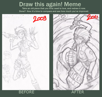 draw this again meme by Conveito