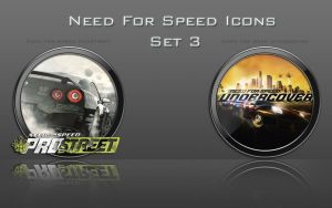 Need For Speed Icons: Set 3 by zahnib