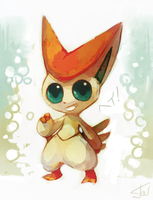 Victini by salanchu