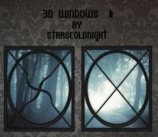 3D Windows II by StarsColdNight