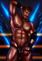 Curtis Axel -Commission- by ZanVarin