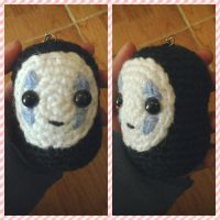No Face amigurumi by NVkatherine