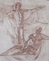 "Figure Study ""Crucifixion"" by valentinmelik"