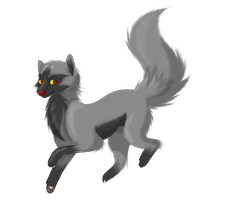 Poochyena Canine by TheLittleNymph