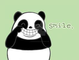Smile Panda by Panduhmonium