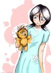 BLEACH :: Rukia + Kon by whitefrosty