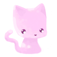 Pink Kitty by Nomiiko