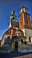 Wawel Cathedral by Banderoo