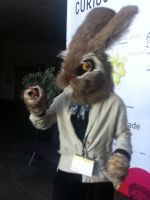Mad March Hare by MonstrositiesNZ