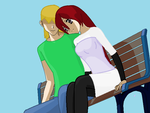 Ally and Danny by Levyfai