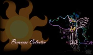 Princess Celestia Wallpaper by InternationalTCK