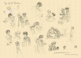 Absolutely Wright Sketches by yil3e