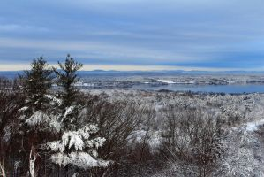 Great Bay in Winter by Celem